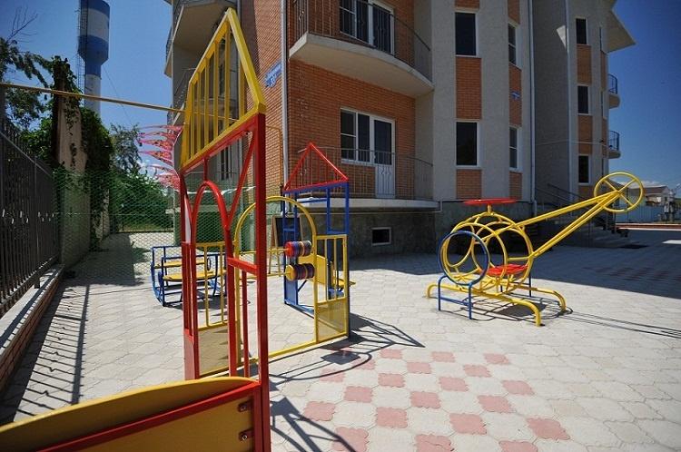 Детская площадка. Фото: taman-kurort.ru