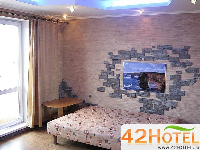 Однокомнатная, Люкс. Фото: www.42hotel.ru