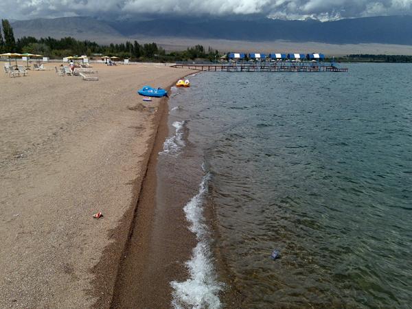 Пляж. Фото: www.west.raduga.kg