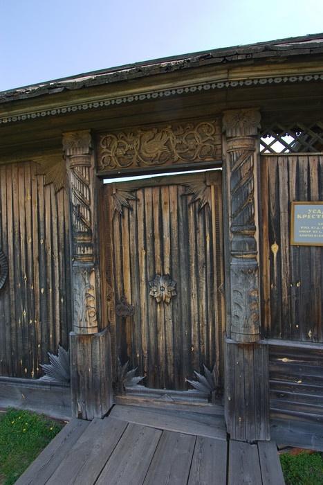 Ворота усадьбы XIX века. Фото: Николай Горячкин