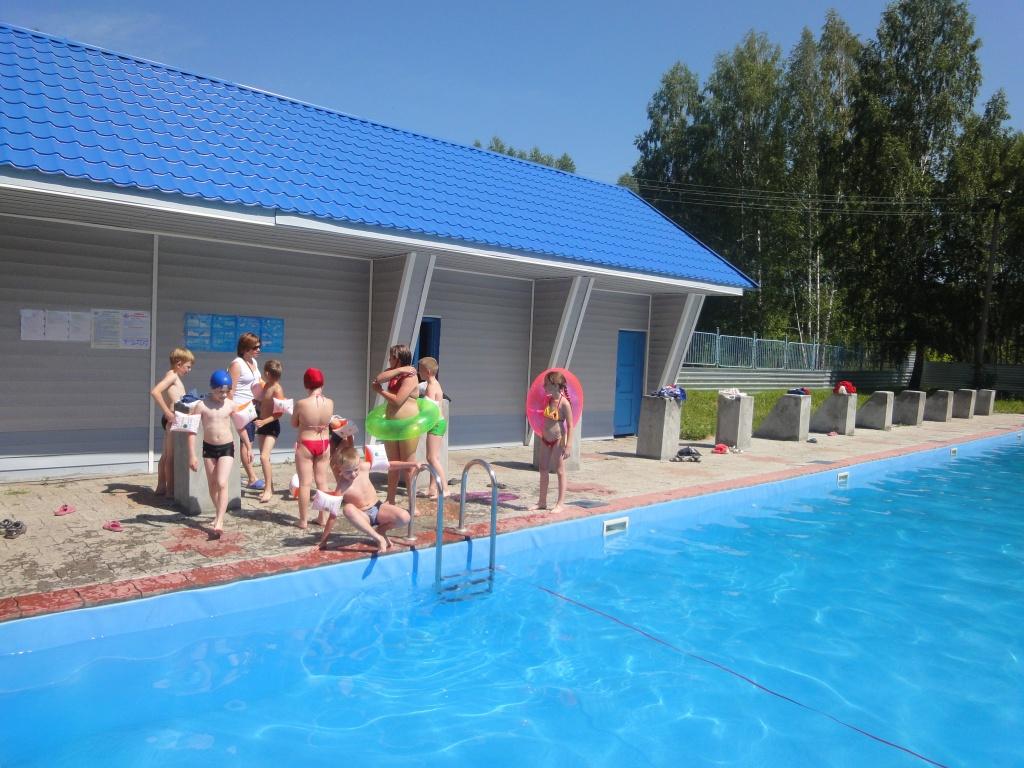Наш летний бассейн!