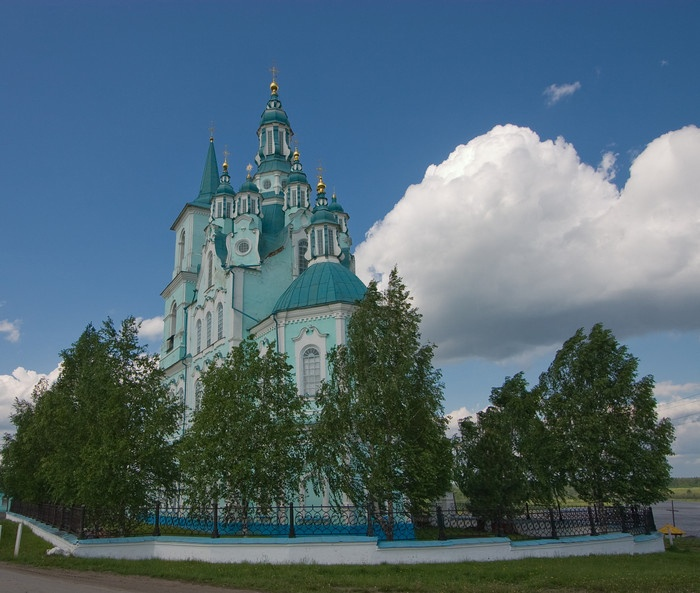 Спасо-Преображенский храм. Фото: Николай Горячкин