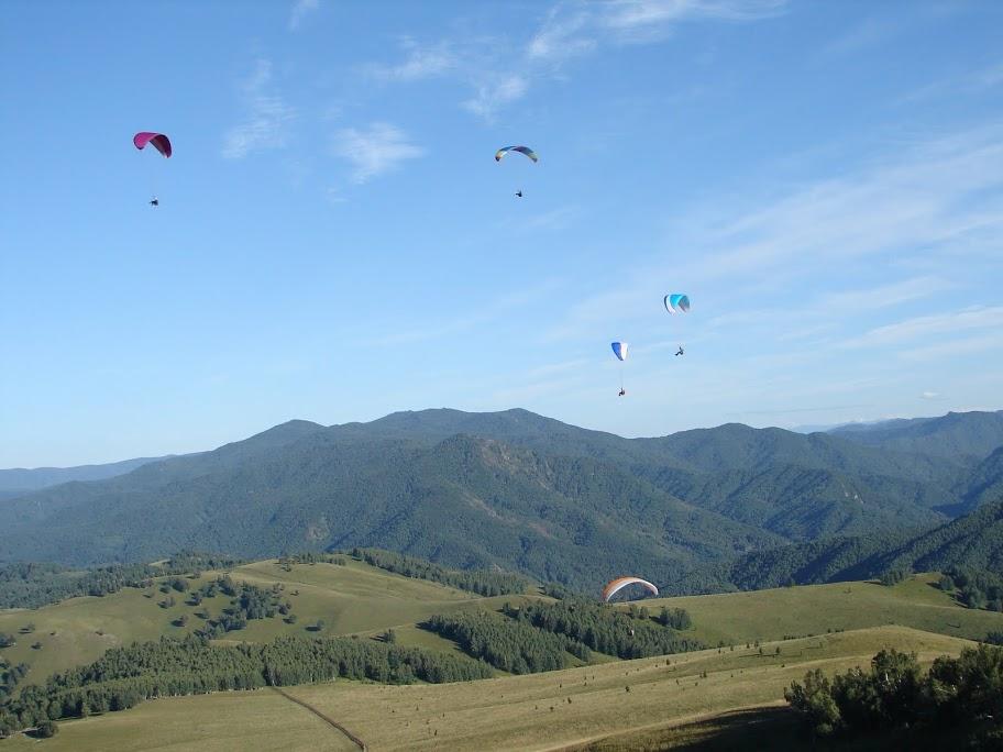 На высоте птичьего полета. Фото: www.paragliding.su
