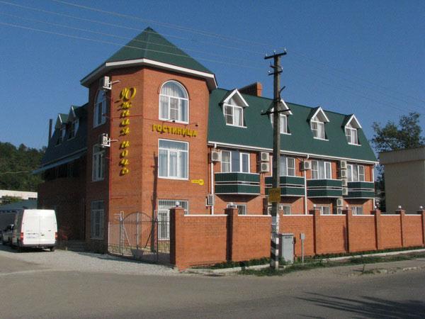 Гостиница «Южная Ночь». Фото: www.yug-hotel.ru