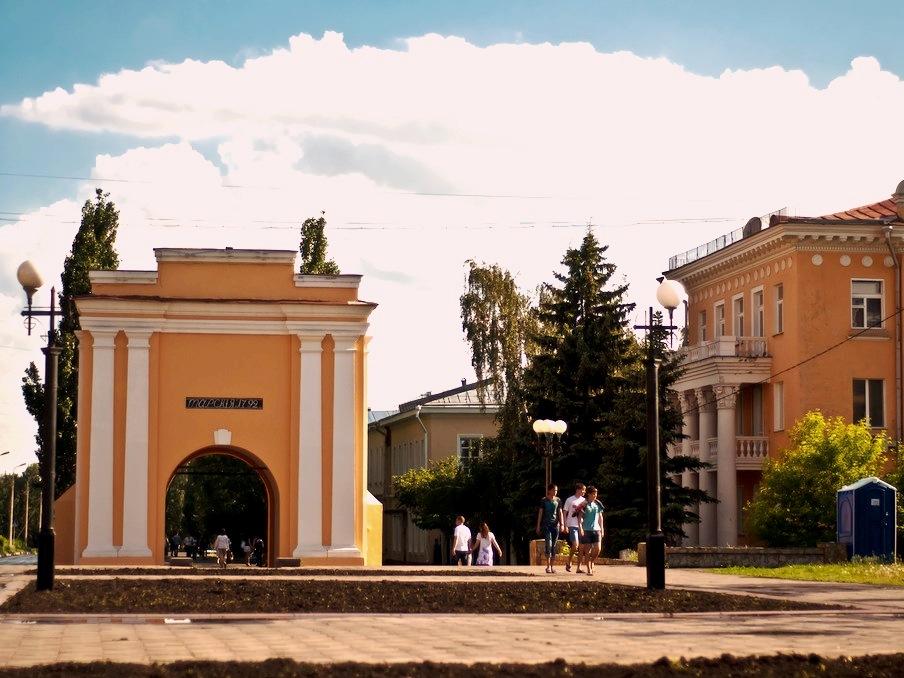 Тарские ворота. Фото: Иван Ивченко.