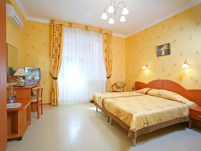 Интерьер номера. Фото: www.hotel-bogema.ru