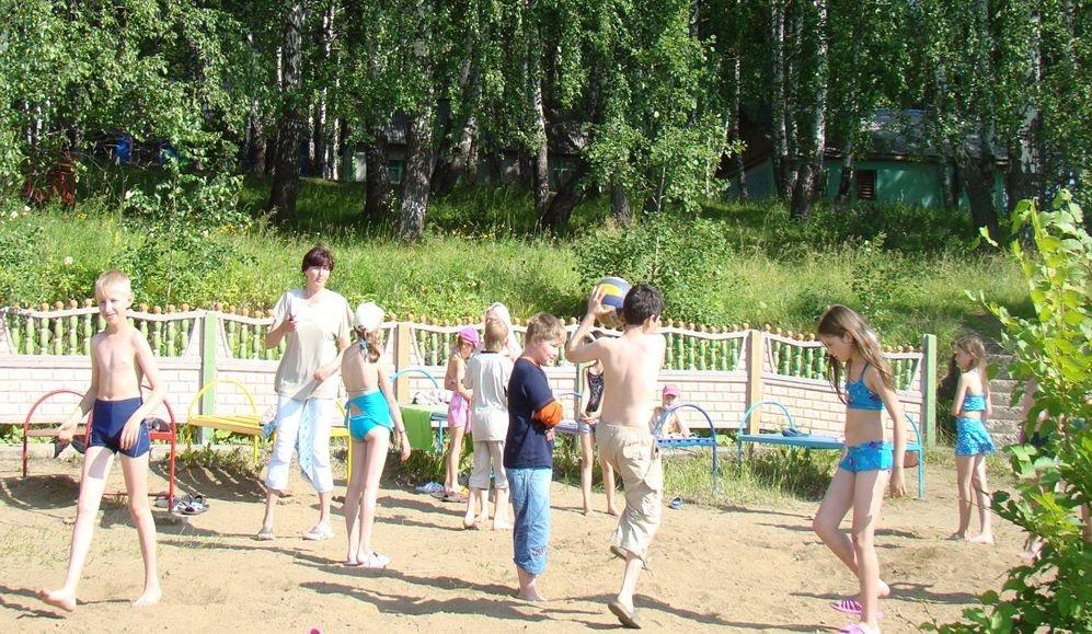 Игры на свежем воздухе. Фото:  relax-live.ru