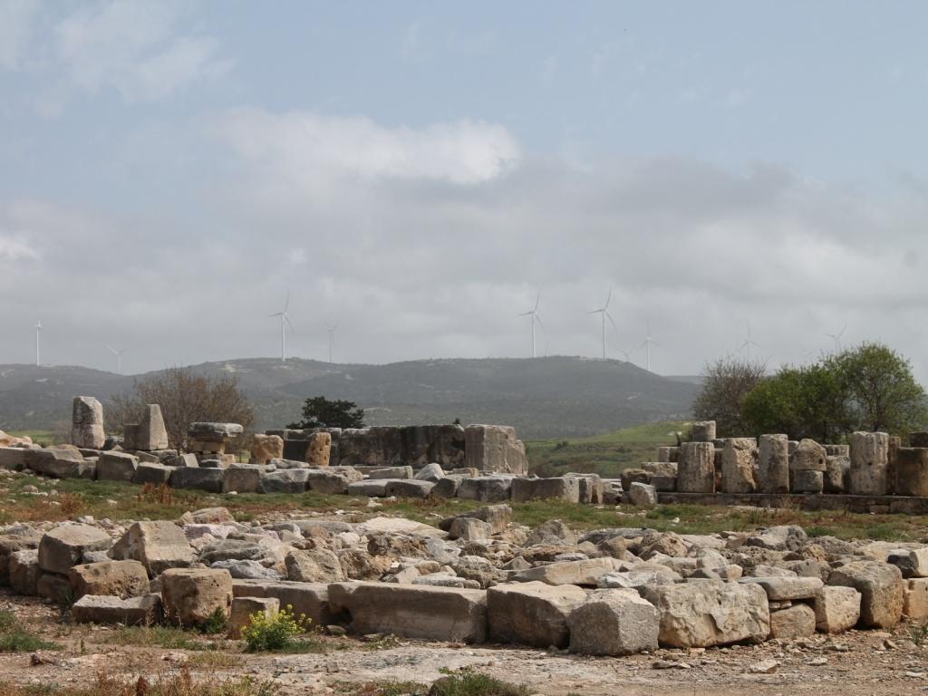 Развалины храма Афродиты. Автор: hAl1927. Фото:  www.flickr.com