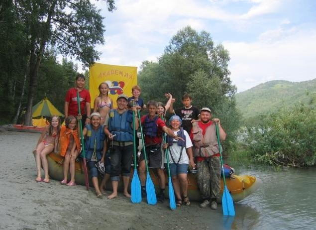 Перед сплавом. Фото: www.shulzhik.ru