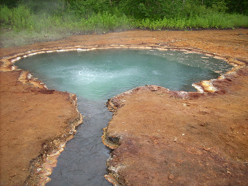 Гидротермальный источник «Грифон Иванова»   ru.wikipedia.org