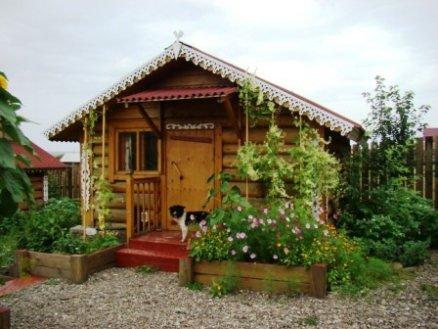Бревенчатый домик   www.baikalhome.ru