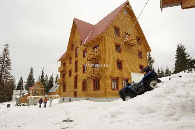 Мини-гостиница «Крокус». Фото:  doroga.ua
