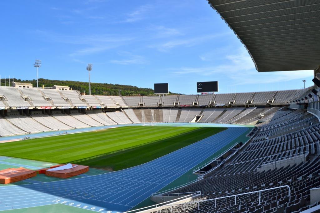 Олимпийский стадион имени Луиса Компаниса.