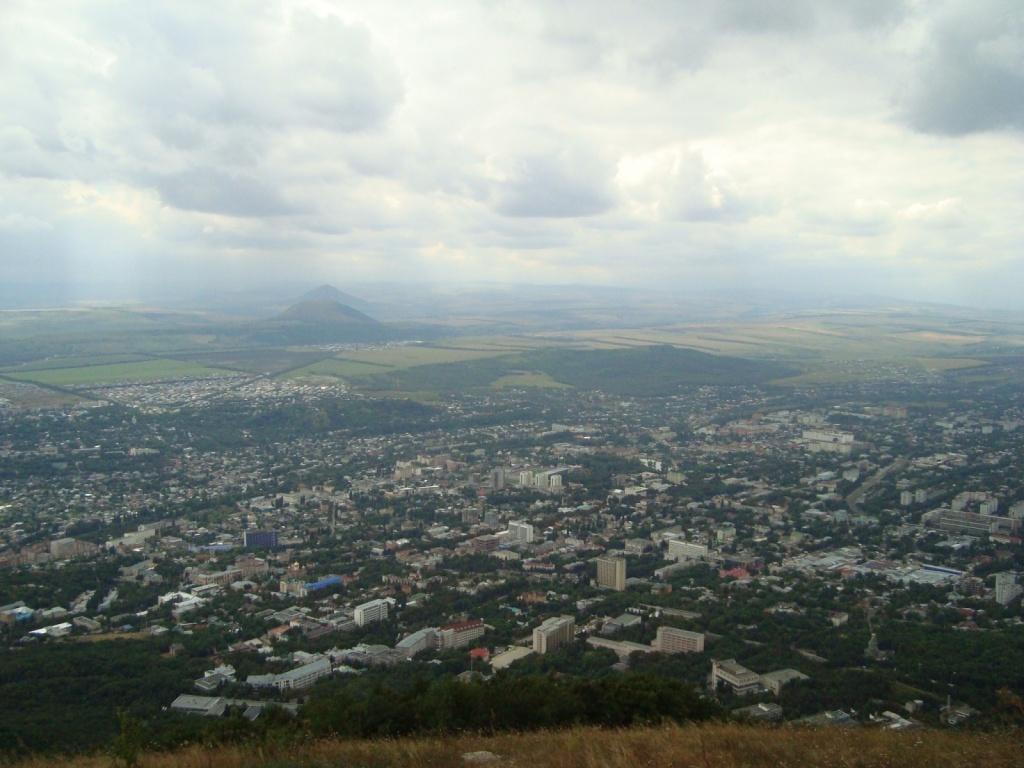 Панорама г. Пятигорска. Автор: Ольга Киль