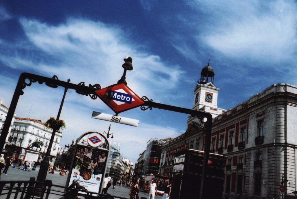 Станция метро на площади. Автор: Alessio Maffeis. Фото:  www.flickr.com