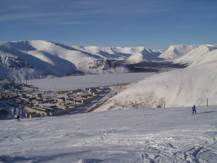 ГЛК «Коласпортланд». Фото: www.ski-kolasport.narod.ru