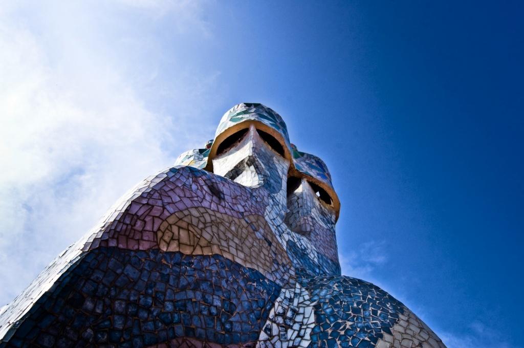 Дымоходы-великаны. Автор: Fabiana. Фото:  www.flickr.com