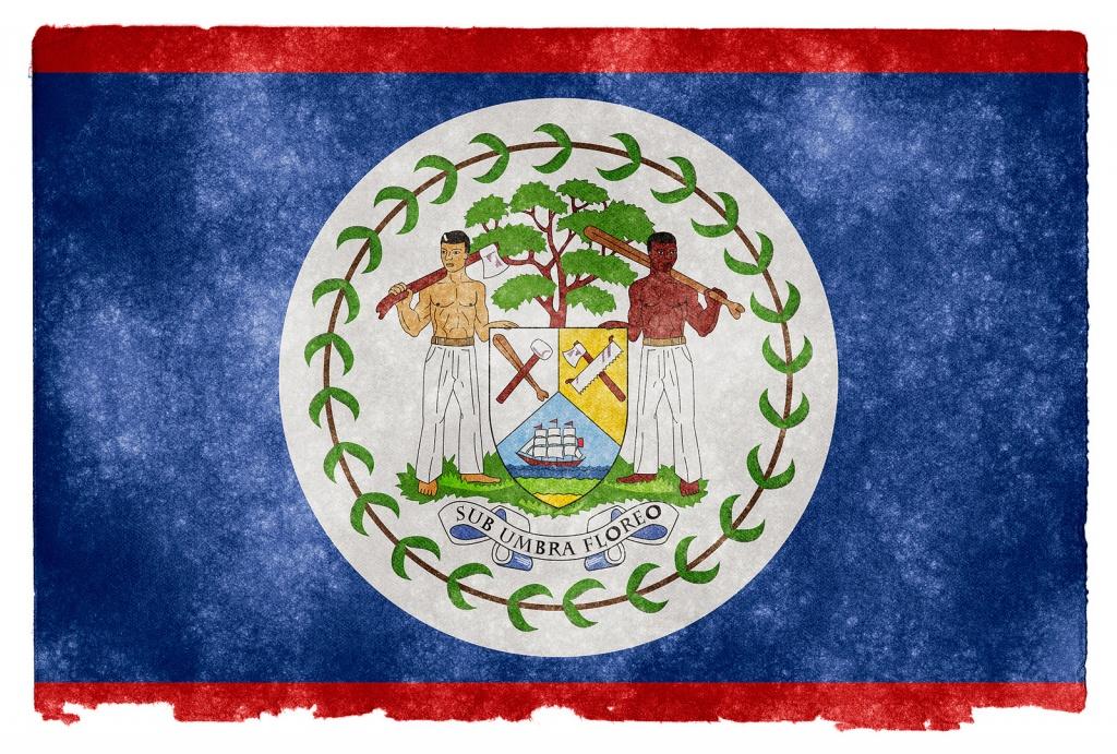Флаг Белиза. Автор: Free Grunge Textures - www.freestock.ca. Фото:  www.flickr.com