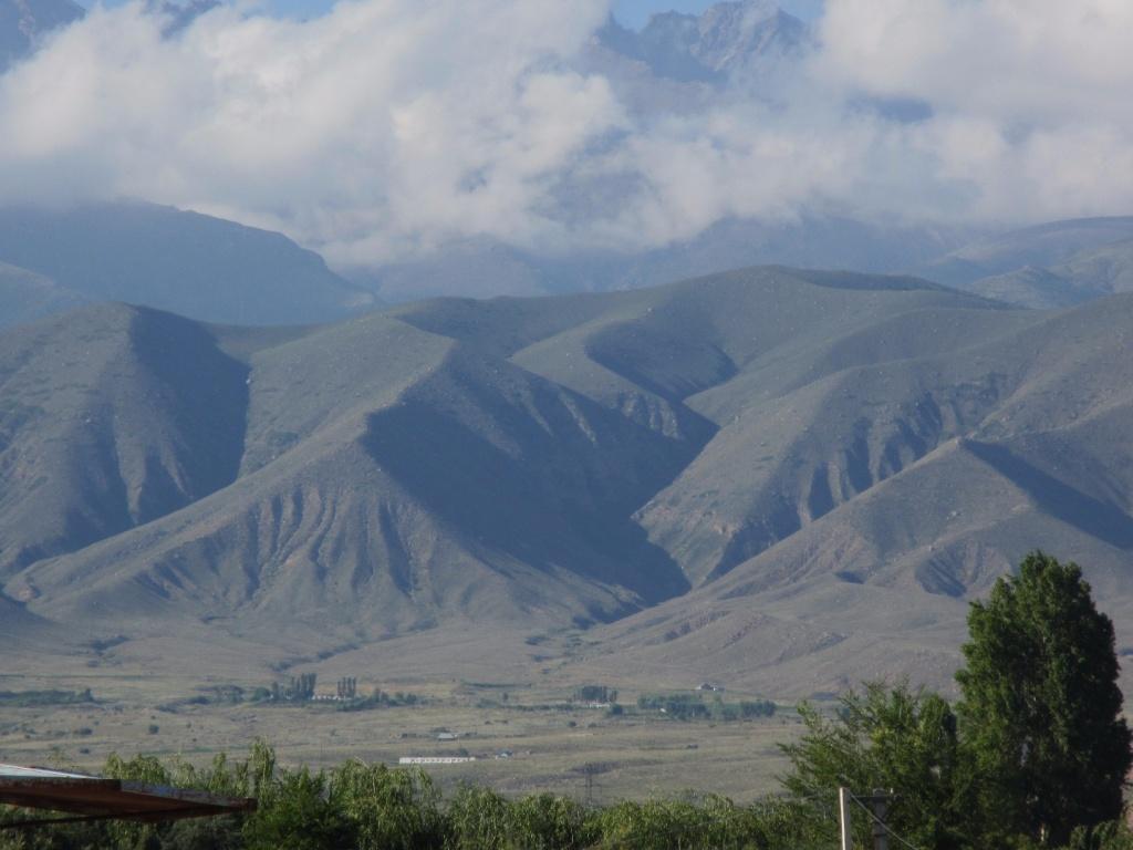 Вид на горы с терассы