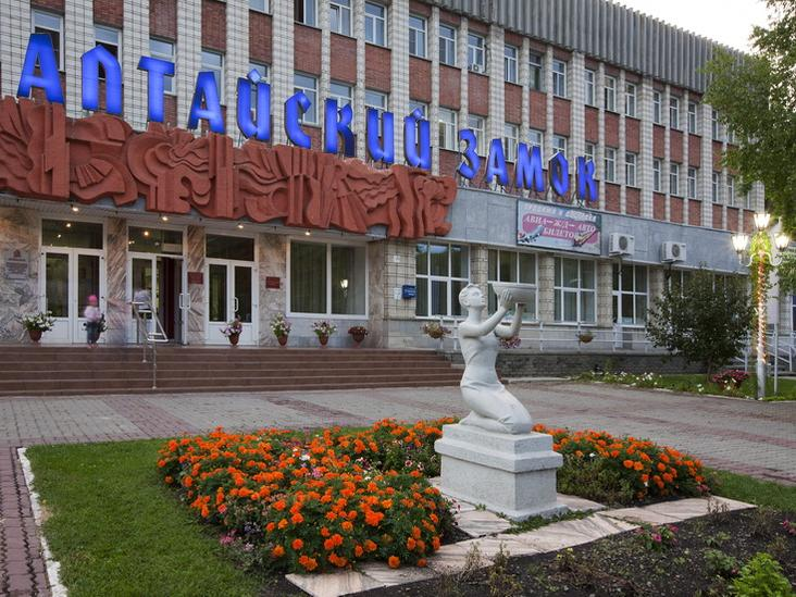 Санаторий «Алтайский замок». Фото: altzamok.ru
