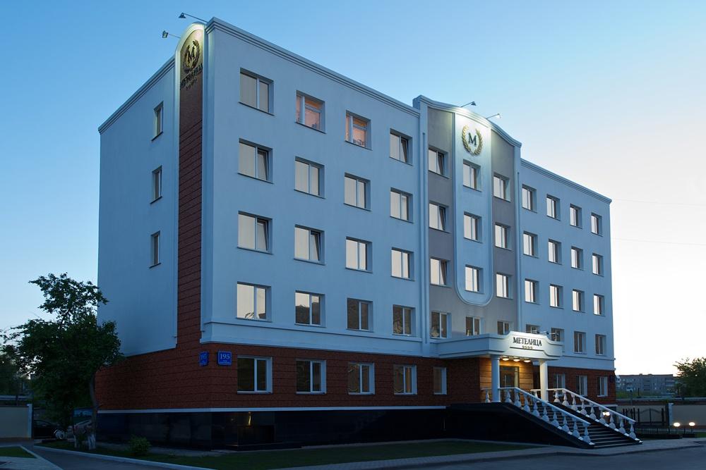 Фасад Отеля.