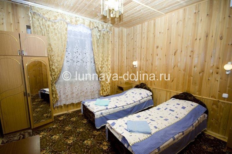Интерьер номера. Фото: lunnaya-dolina.ru