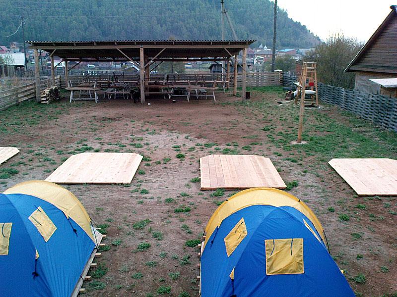 Палаточный городок   baikal-derevenka.ru