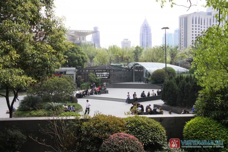 Парк в Шанхае. Фото:  VisitChina.ru