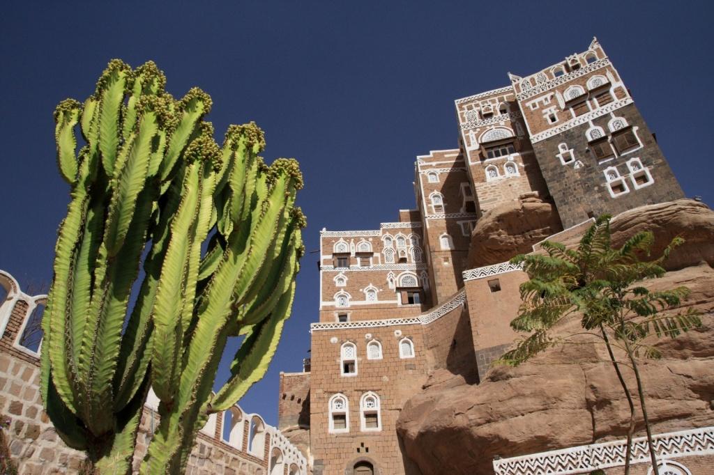 Dar al-Hajar или Дворец Скала. Автор: yeowatzup. Фото:  www.flickr.com
