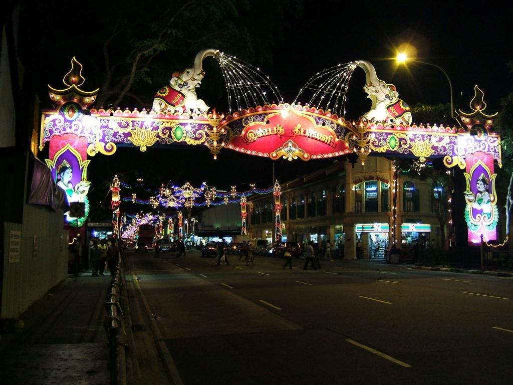 Улица квартала Маленькая Индия. Автор: oldandsolo. Фото:  www.flickr.com