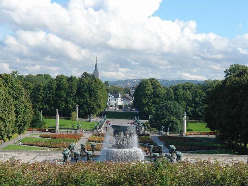 Панорама на парк скульптур.  Фото:  tonkosti.ru
