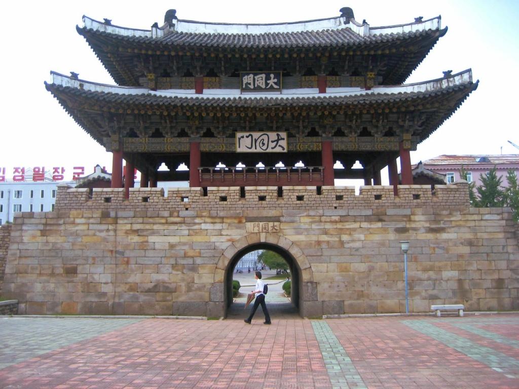 Ворота Тэедонг. Автор: D-Stanley. Фото:  www.flickr.com
