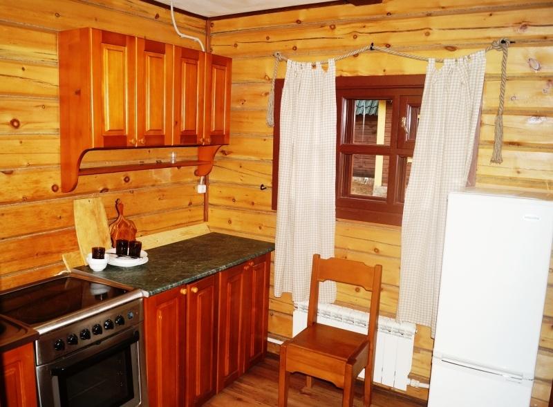 Кухня в коттедже №3