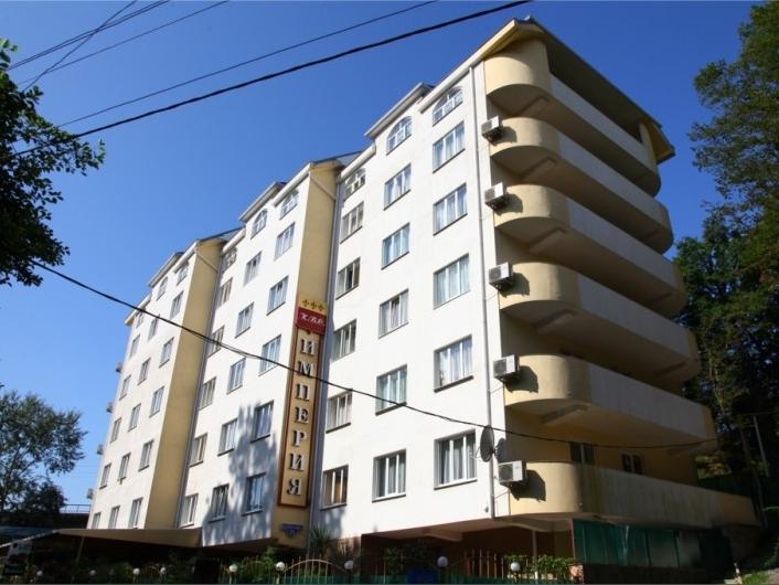 Отель «Империя». Фото: www.imperiasochi.ru