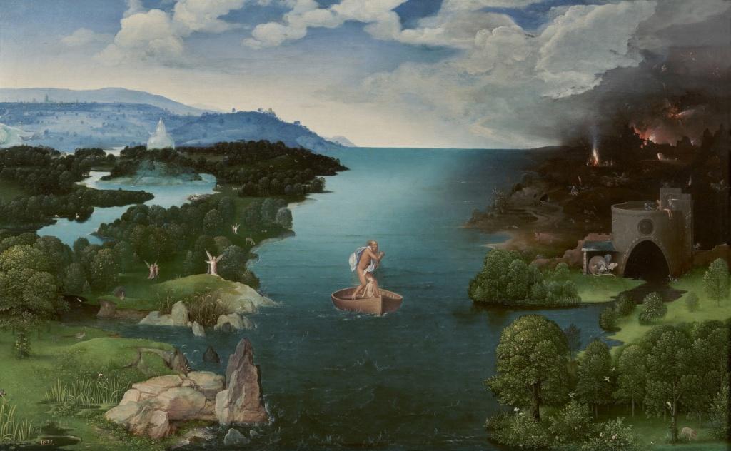 Патинир «Crossing the River Styx»