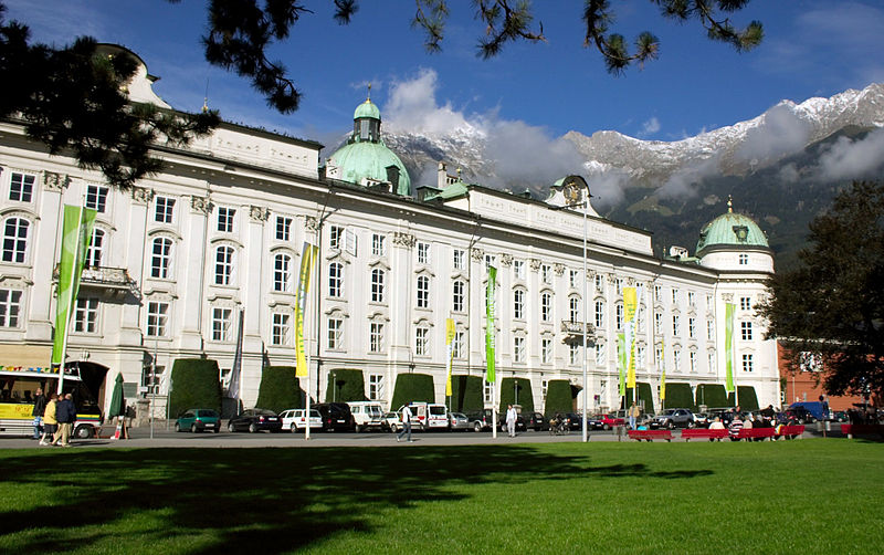 Инсбрук. Дворец Хофбург. Фото: ru.wikipedia.org