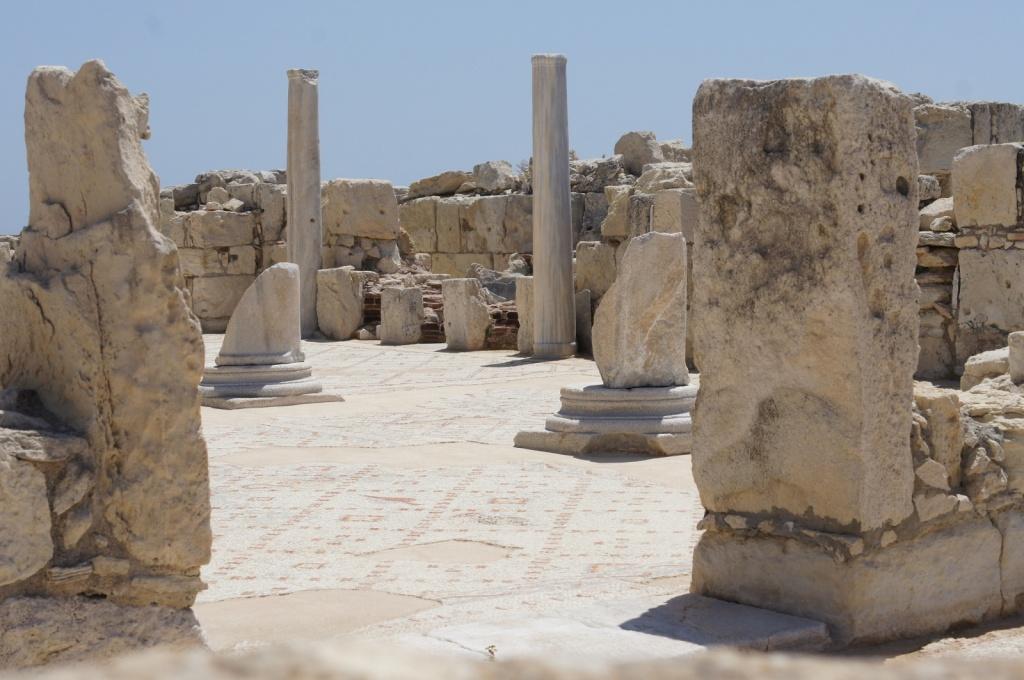 Останки раннехристианской базилики. Автор: Patrick Denker. Фото:  www.flickr.com