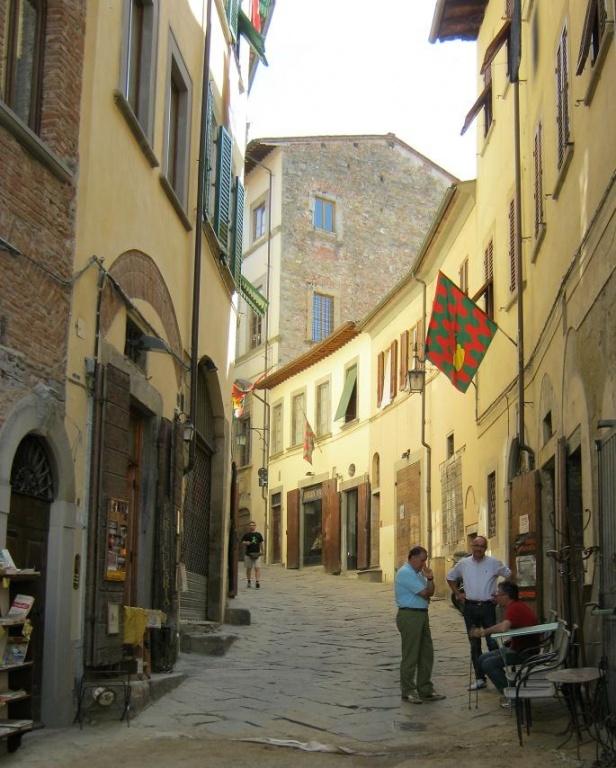 Улочки_Ареццо. Фото:  Тонкости_туризма