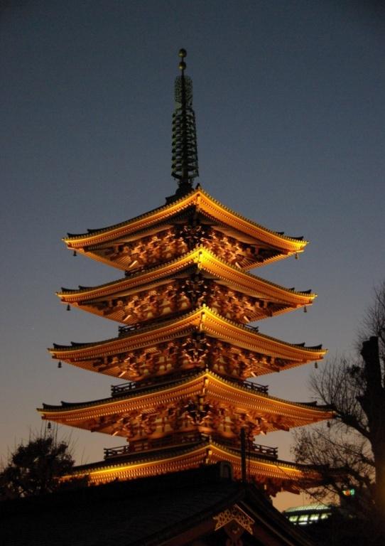 Пятиэтажная пагода. Фото с сайта tonkosti.ru
