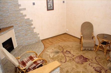 Апартаменты, гостиная. Фото: www.hotel-cimus.ru