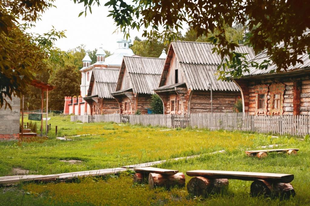 Домики Русской Деревни