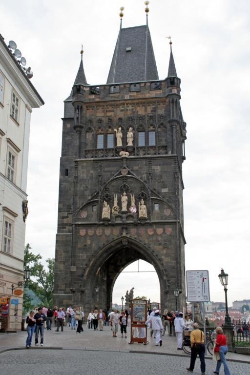 Староместская мостовая башня. Автор: ahisgett. Фото:  www.flickr.com