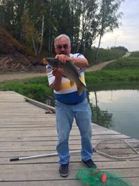 рыбалка на озере Юрманском