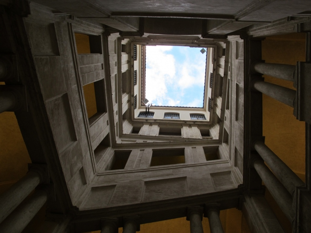 Лестница Бернини. Автор: sailko. Фото:   wikimedia.org