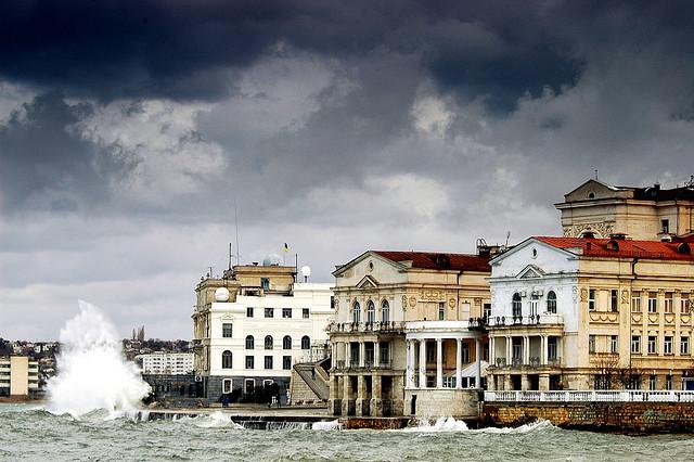 Дома Севастополя. Фото с сайта  tonkosti.ru