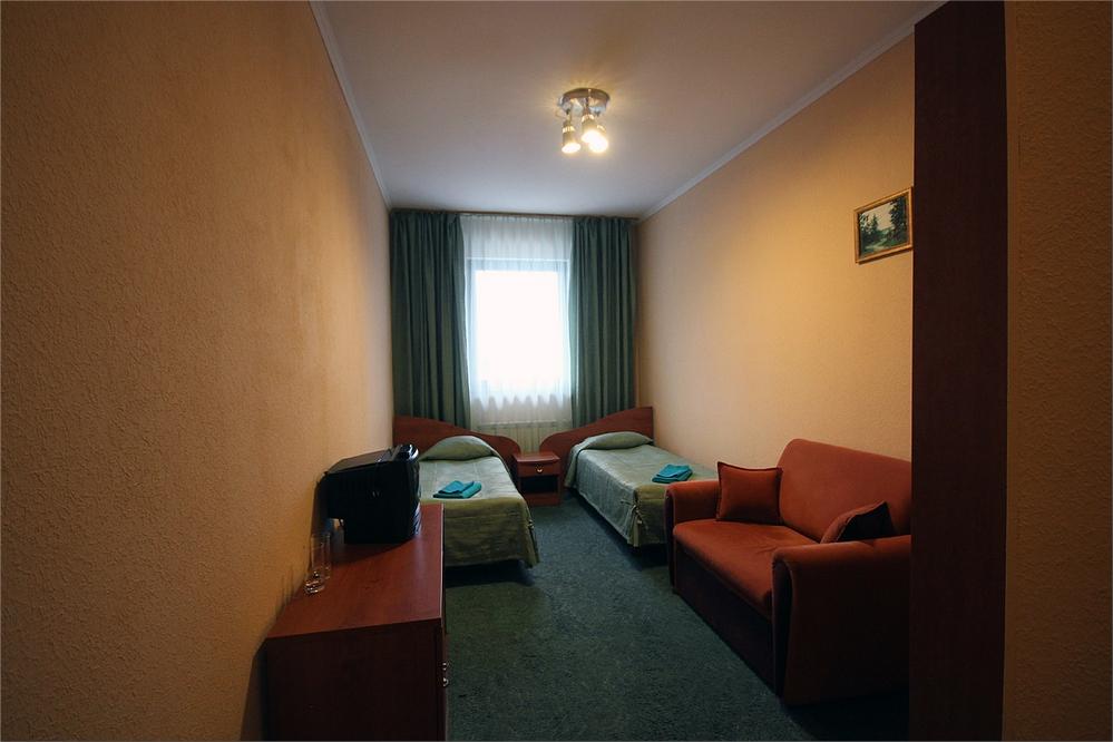 Номер «Стандарт». Фото: www.akvilon-hotel.ru