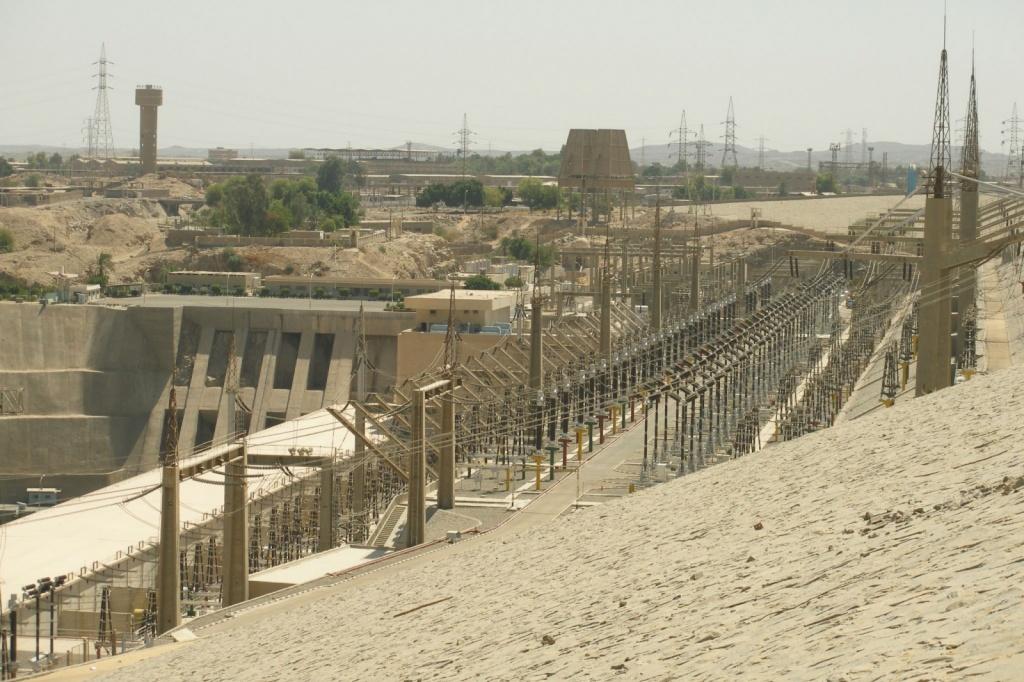 Гидроэлетростанция Асуанской плотины. Автор: Argenberg. Фото:  www.flickr.com