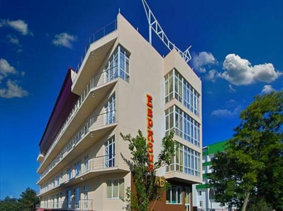 Отель «Евразия». Фото: hotel-evrazia.ru