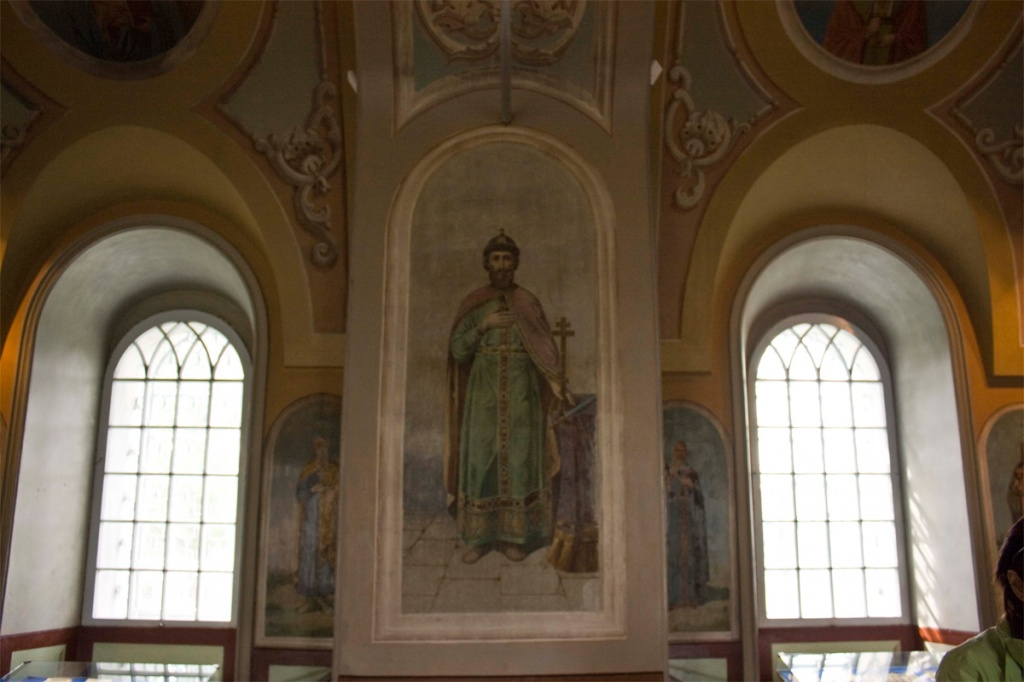 Фреска Спасо-Преображенского храма. Фото: Primus65