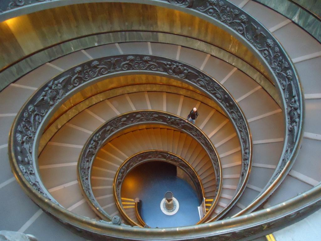 Лестника в музее. Фото:   Cesar I. Martins